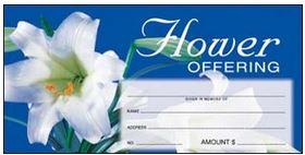Easter Flower Offering Envelope Item # 8409 Starting at  Size & Fit Guide