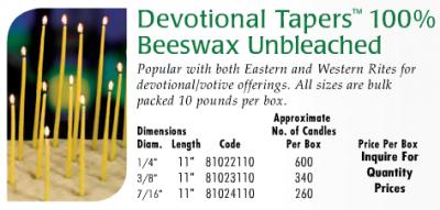 beeswaxtapers